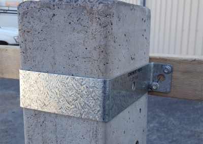 ACP Post with Collar Bracket for Timber