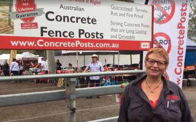 Once-In-A-Lifetime Fence Posts