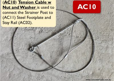 AC10 – Tension Cable