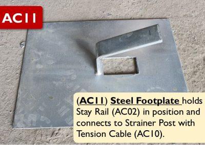 AC11 – Steel Footplate