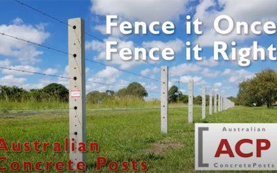 Australian Concrete Fence Post TV Ad 2020
