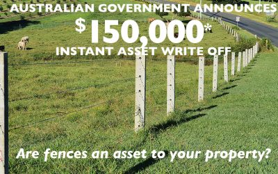 Instant Asset Write-off For Fences Up To $150,000